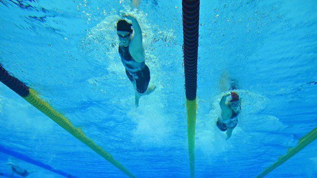 Underwater camera that can tweet photos of swimmers used in London Olympics
