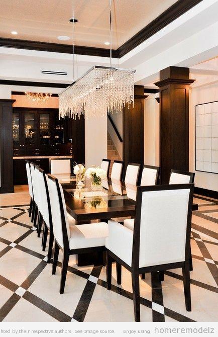 Contemporary formal dining room sets suzie homemaker pinterest beautiful beautiful dining - Formal contemporary dining room sets ...