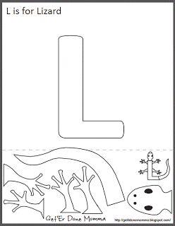 http://getitdonemomma.blogspot.pt/2012/11/alphabet-craft-free-l-is-for-lizard.html