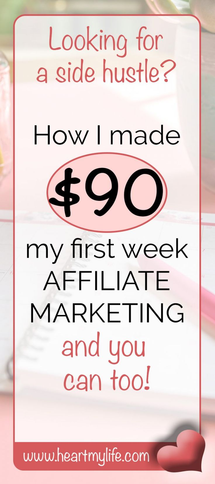 Does affiliate marketing really work? I recently launched an experiment into affiliate marketing and made $90 my first week. Learn how in this blog article.