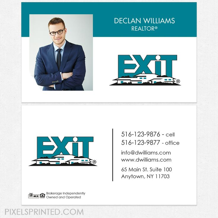 7 best Exit Realty Card Designs and Templates images on Pinterest ...