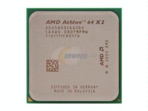 AMD Athlon 64 X2 5800+ 3.0GHz 2x512KB Socket AM2 Dual-Core CPU by AMD. $38.00. Add this AMD Athlon 64 X2 5800+ Socket AM2 CPU to your PC and you can work or play with multiple programs at the same time!  This AMD Athlon 64 X2 5800+ dual-core CPU operates at 3000 MHz frequency and features 2 x 512 KB L2 cache. The ADA5800IAA5DO features AMD PowerNow!TM Technology (Cool'n'QuietTM Technology), AMD64 Technology, and HyperTransportTM Technology!  Dual-Core technology...