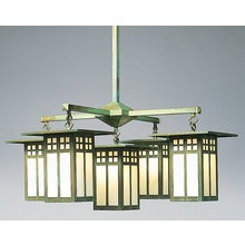 Arroyo Craftsman chandelier