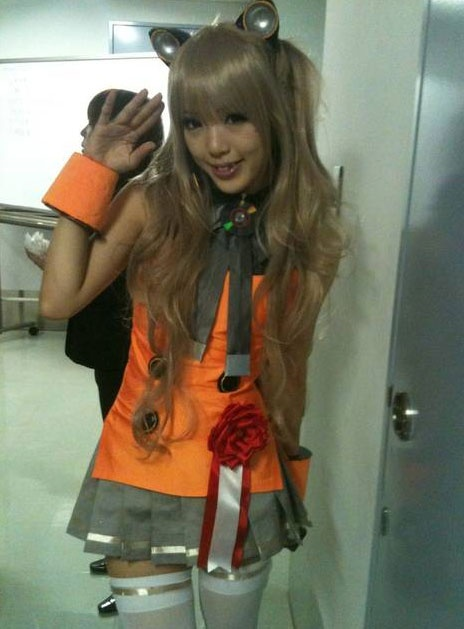Kipi as SeeU: Vocaloid 03