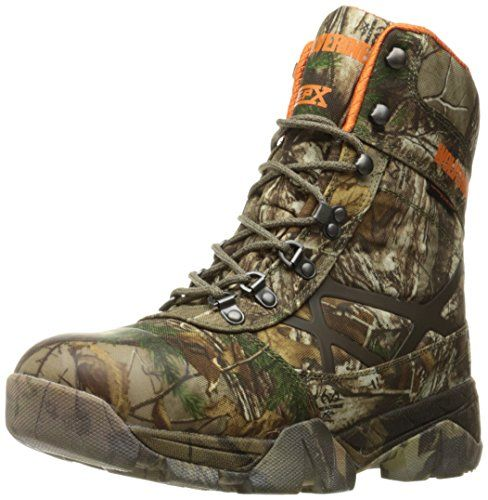 Wolverine Men's Archer 8 Inch Insulated Waterproof Hunting Boot, Realtree Extra, 9.5 M US