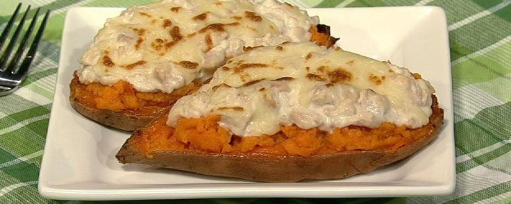 Harley Pasternak's Sweet Potato Tuna Melt Recipe | The Chew - ABC.com