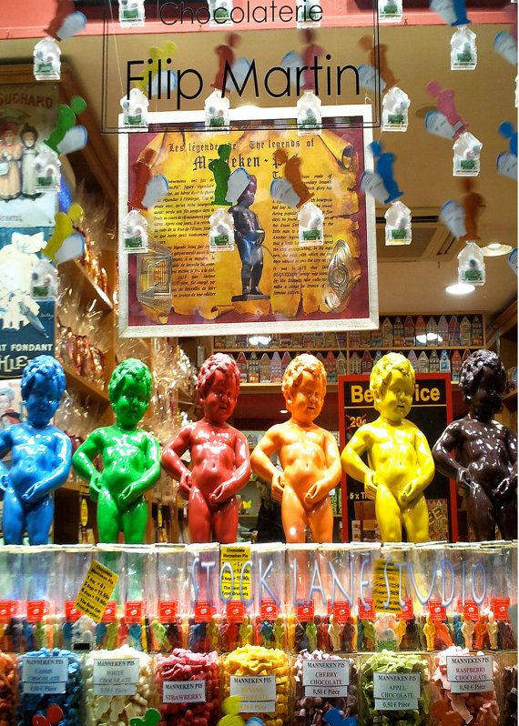 INSTANT DOWNLOAD Manneken Pis chocolate by StockLaneStudio on Etsy, $7.00