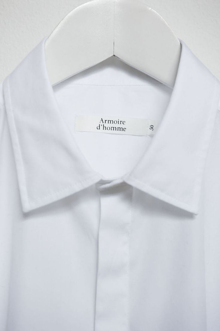 The White Shirt - organic cotton