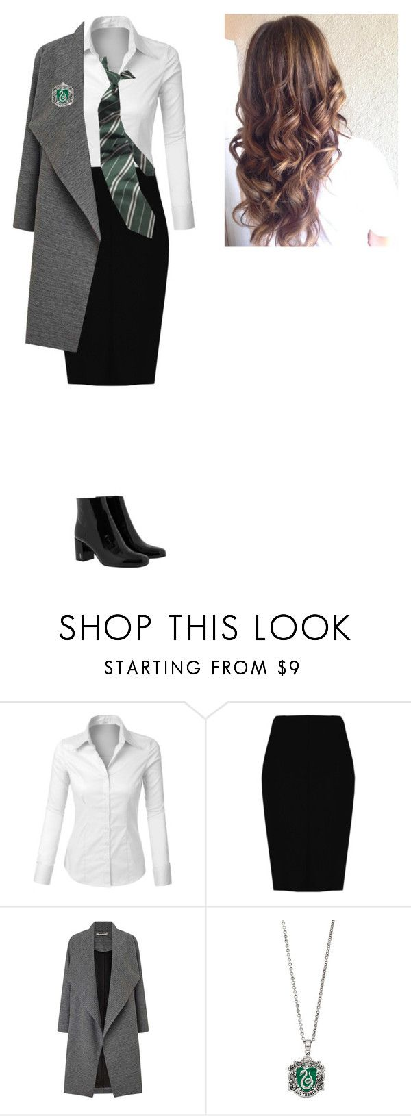 """""""first day"""" by idatherese04 on Polyvore featuring beauty, LE3NO, Boohoo, Miss Selfridge and Yves Saint Laurent"""