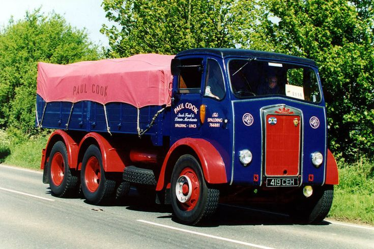 Albion - Clansman/Chieftain/Clydesdale/Clymore/Reiver (Commercial vehicles) - history, photos, PDF broshures