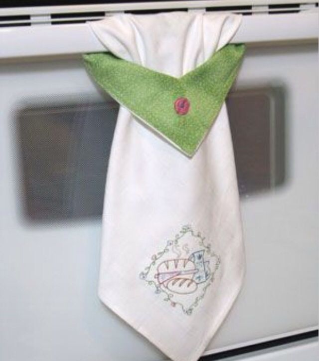 Embroidery Kitchen Towel Designs