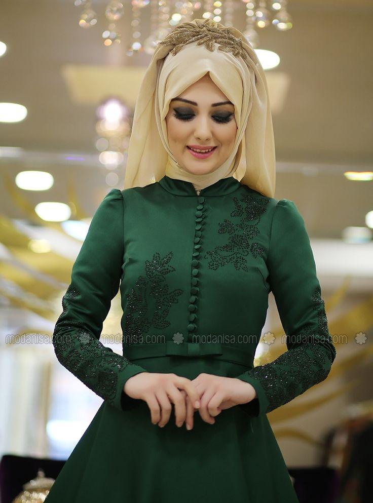 Açelya Abiye - Zümrüt - Minel Aşk