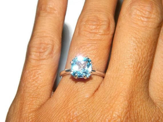 gold setting estate in sky engagement topaz vintage media rings ring jewelry anniversary stone filigree blue unique