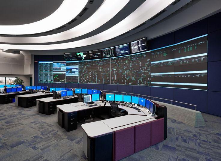 17 Best Cctv Control Room Design Images On Pinterest