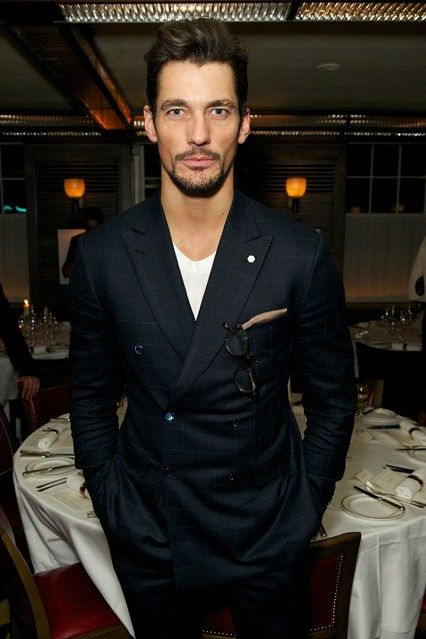 David Gandy at Tommy Hilfiger and Jonathan Newhouse dinner