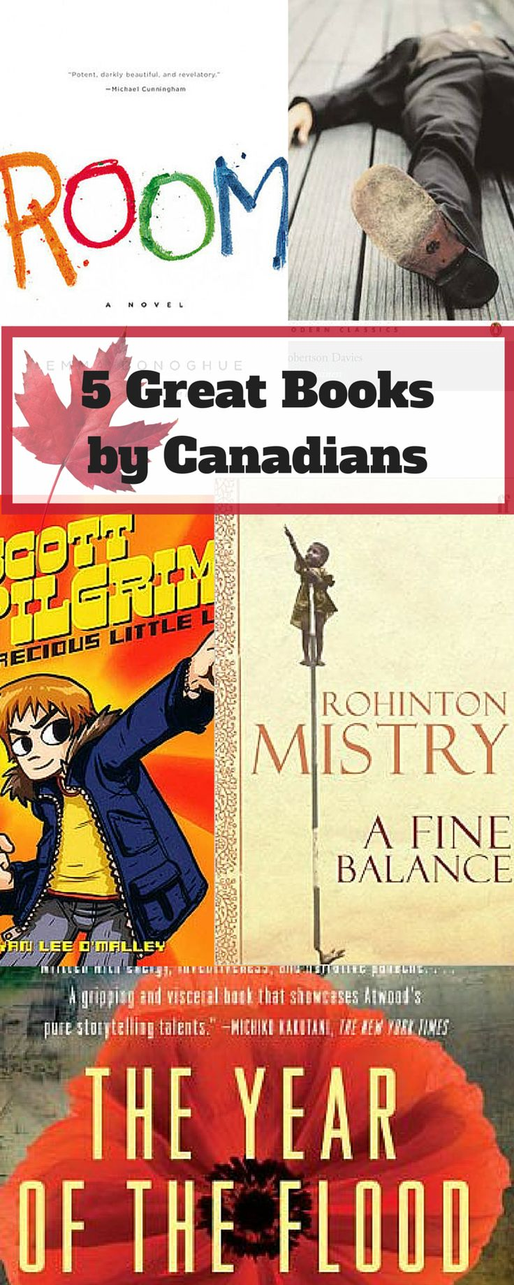 5 Great Books by Canadians. In honour of Remembrance Day, this post lists 5 books by Canadians you should read right now