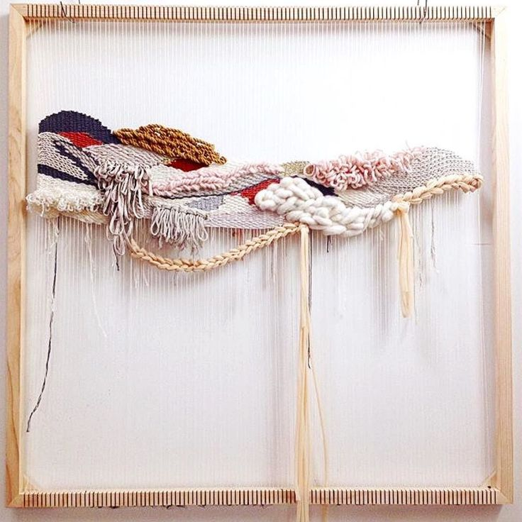 The beauty of weaving is partly in the big reveal (how good does it feel to finally hang it up!?) but I think that it's mostly in the process. I love @_oh_josephine 's feed as she embraces the process of her weaving. Every new layer is documented and each detail is posted. It reminds me of the days before binge-watching when you have to wait for the next installment. As she builds the weave we can all participate by unconsciously planning what WE would do next. It's a reminder to us all…