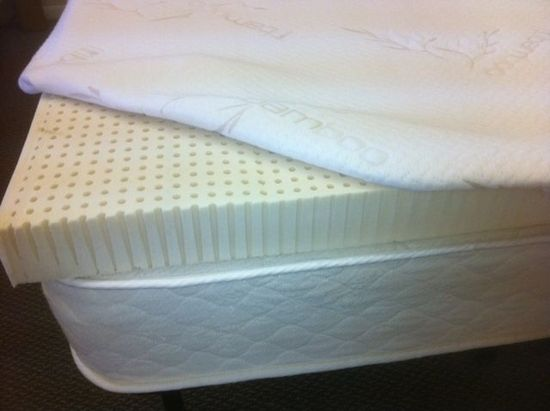 3 Inch All Natural Talalay Latex Mattress Topper Save With Diy Components Mattresses And Dunlop Products