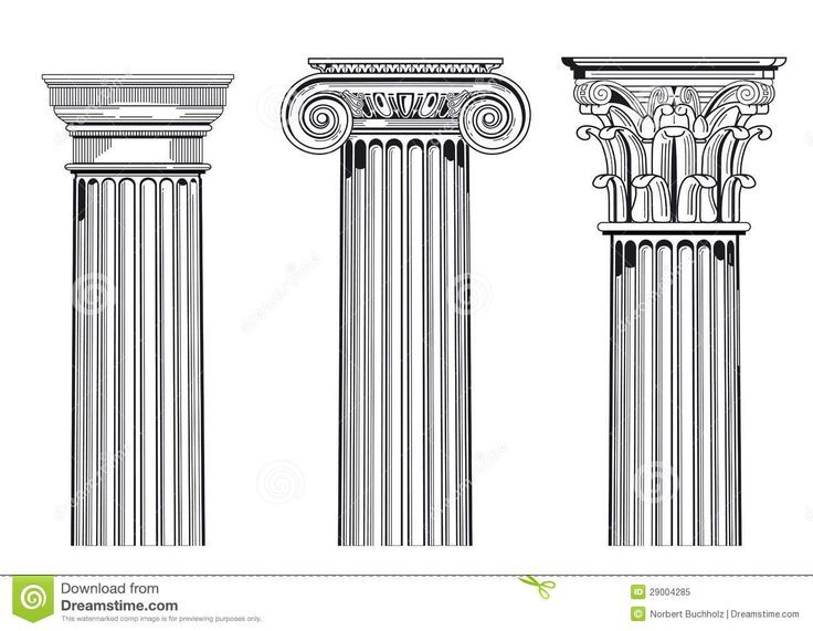 column capitals tattoos - Google Search