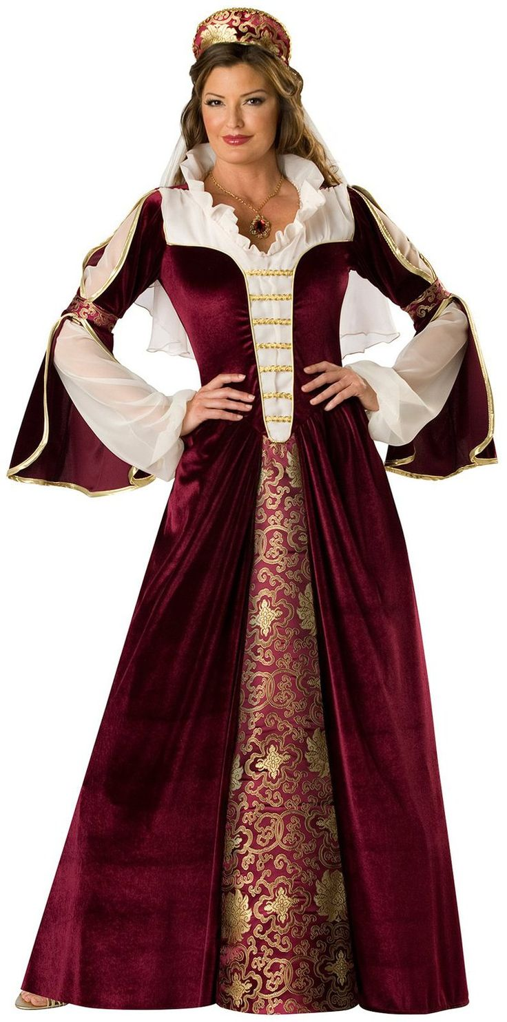 Adult Elegant Empress Renaissance Costume Adult Princess Costumes - Mr. Costumes