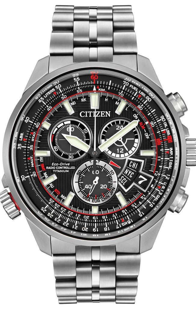 CitizenWatchUK Eco Drive Chrono A.T WR200 addcontent