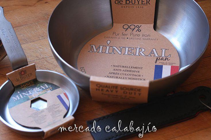 Sartenes de hierro mineral De Buyer, vuelta a los orígenes - Mercado Calabajío