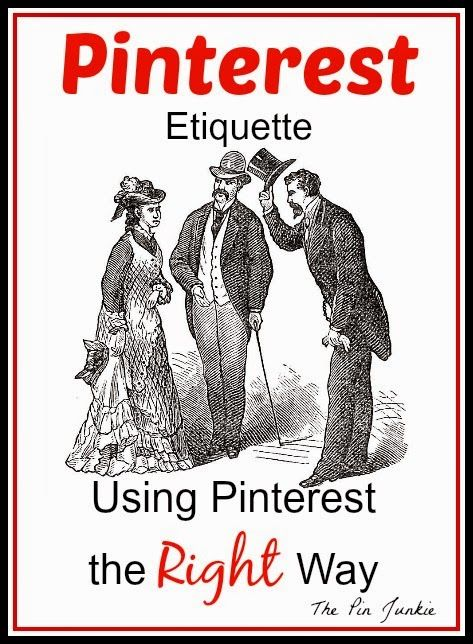 Brush up on your Pinterest etiquette with these tips how to use Pinterest the right way.