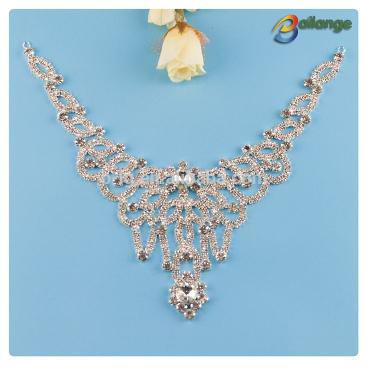 Browse our online selection of #RhinestoneTrims at very affordable range .We have a great collection of beautiful trims in our gallery . The Rhinestone Trim comes with crystal rhinestones with silver beading and sets