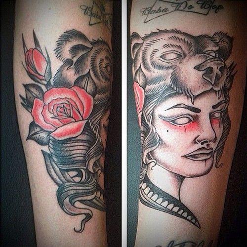 bear hood tattoo - Google Search