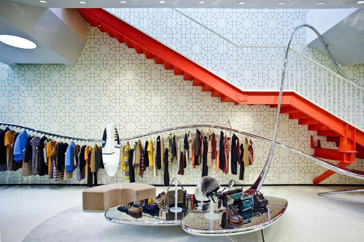 Marni flagship store by Sybarite, Beijing store design Click www.pinterest.com/instorevoyage to find thousands of in-store marketing and visual merchandising pins