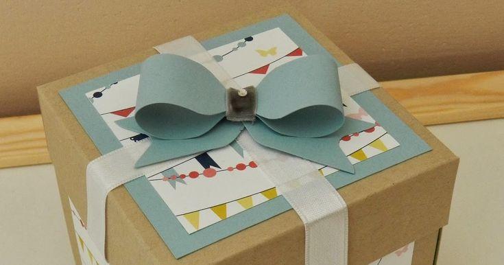 Gutscheine verschenken ist langweilig? VON WEGEN! Alles nur eine Frage der Aufmachung! ;) Mit dieser Exploding-Box wurde ein Gutschein für ...