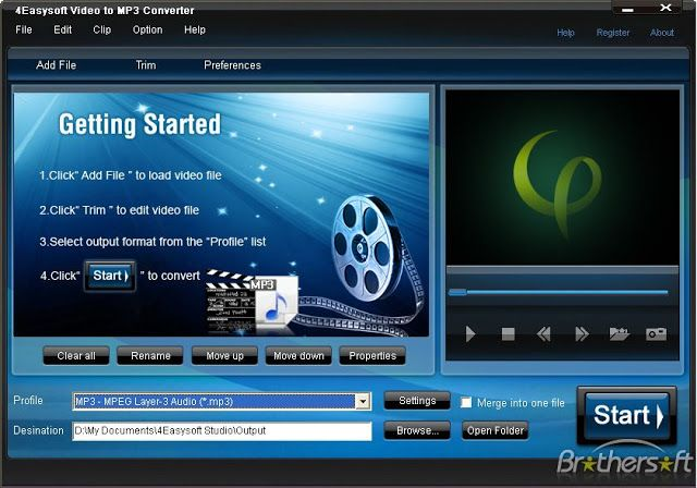 free studio video to mp3 converter