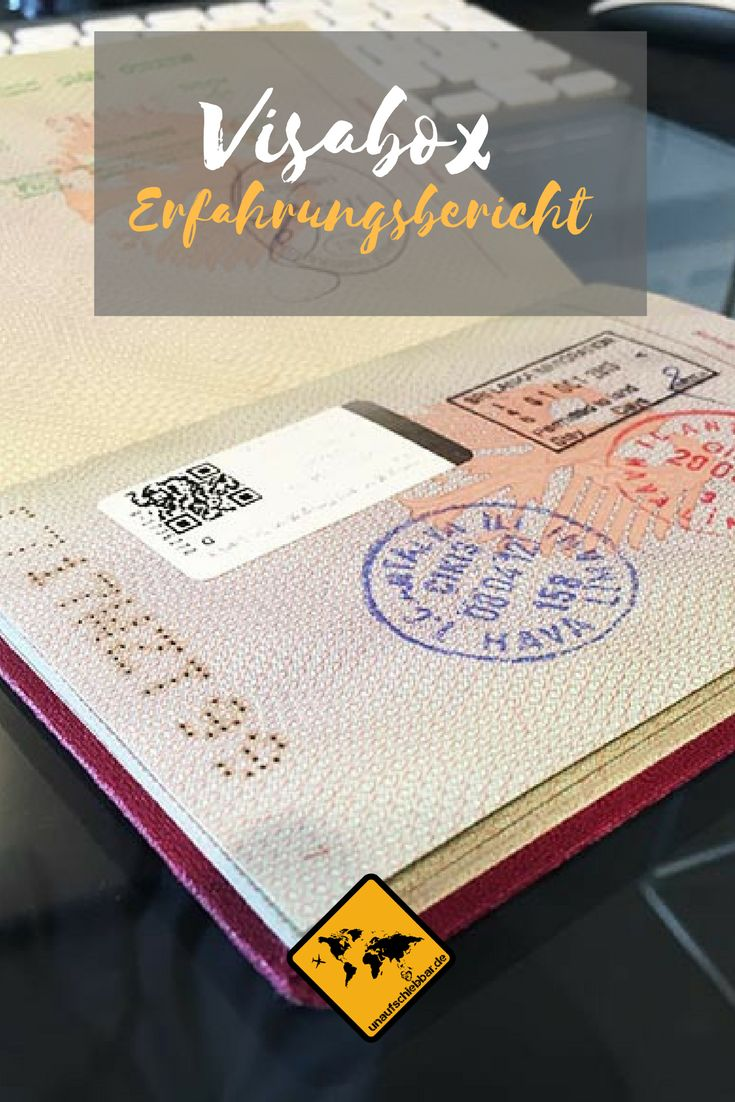 https://www.unaufschiebbar.de/reisetipps/visum/visabox-erfahrungen/ Erfahre hier alles zu unseren persönlichen Visabox Erfahrungen ✓ und wie wir den Visa Service genutzt haben ✓ Alles zu den Vor- und Nachteilen ✓#Visabox #Visaservice #Reisepass #Visum #Visen #Visum #Kanada #China #USA #Australien   #Ägypten #Algerien #Äthiopien #Bangladesch #Benin #China #Eritrea #Gabun #Ghana #Indien #Indonesien #Iran #Kambodscha #Kap #Verde #Kenia #Laos #Mongolei #Myanmar #Pakistan #Russland #Saudi…