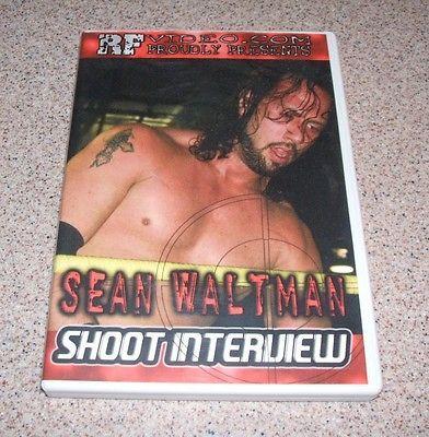 SEAN WALTMAN : SHOOT INTERVIEW by RF VIDEO wrestling DVD wwe wwf wcw x-pac syxx