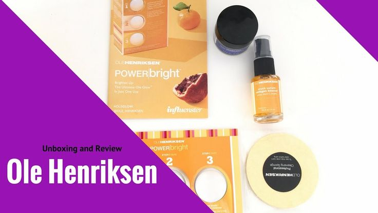 Ole Henriksen Unboxing Review | Daisi Jo Reviews