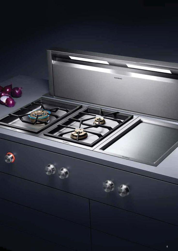 Vario Cooktops 400 Series #appliances #gaggenau #kitchen Pinned by www.modlar.com