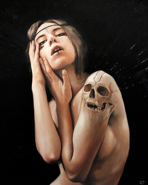 .: Tattoo Ideas, Skulls, Artists, Charmaineolivia, Art Inspiration, Illustration, Body Art, Charmaine Olivia, Painting