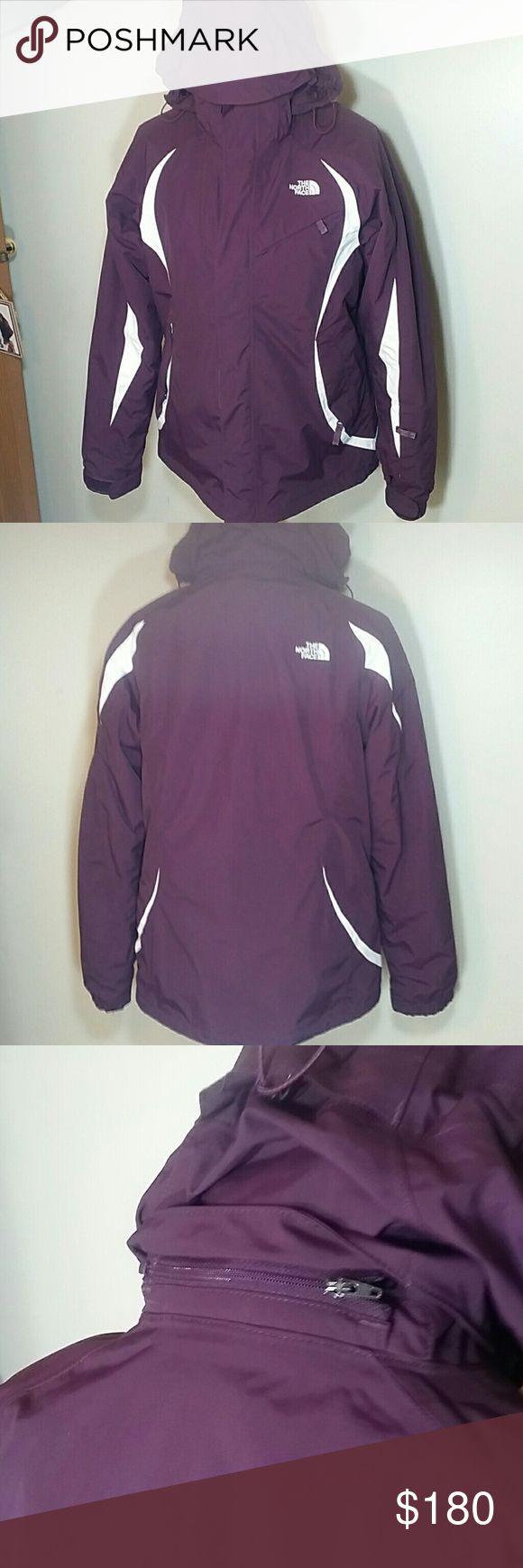 NORTH FACE PLUM 3 IN 1 COAT North Face Plum 3 in 1 coat North Face Jackets & Coats