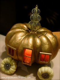"Project: Mommie: The ""Midnight Hour"" Pumpkin (Cinderella's Pumpkin Carriage)"