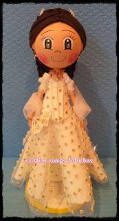 Cristina Camps Fofuchas: Fofucha Sissi emperatriz