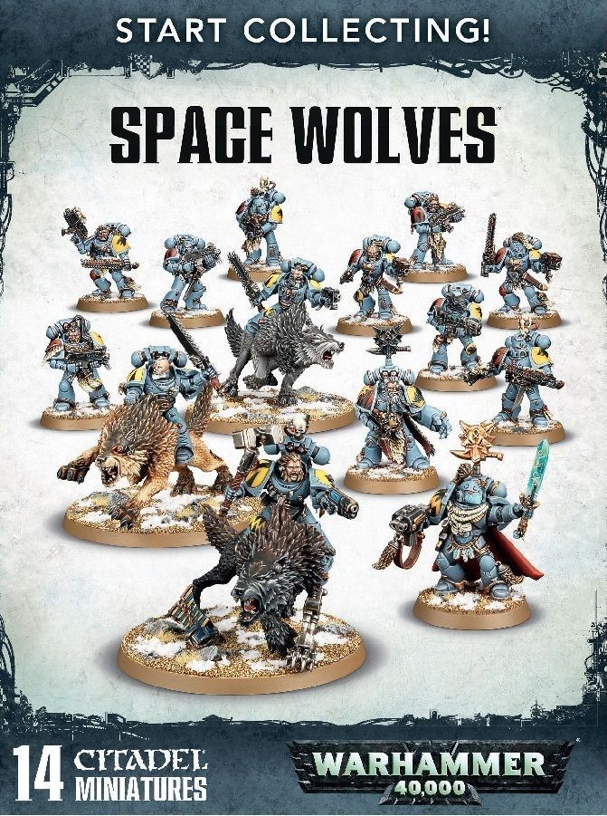 40K Starter Sets 183472 Warhammer 40K Start Collecting