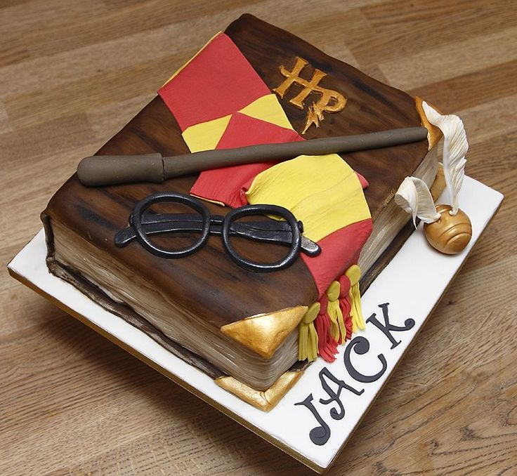 This Harry Potter Cake Will Cast A Magic Spell Over You