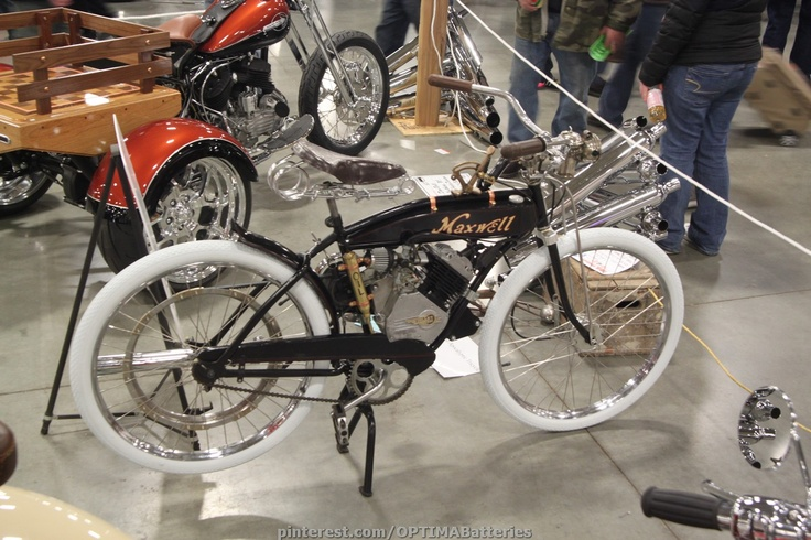 Vintage Maxwell motorized bicycle
