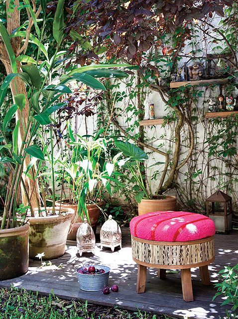 174 best images about vamos afuera on pinterest - Jardines pequenos con encanto ...