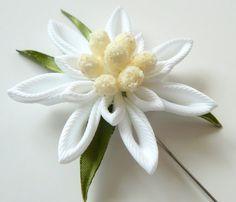 Prendedor de flor de los hombres. Broche de la flor de por JuLVa