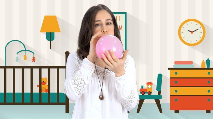 Cómo inflar un globo sin aire. Un experimento sencillo y divertido para los niños.