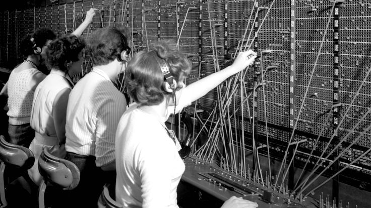 The Making of Information Age: Enfield Telephone Exchange - YouTube
