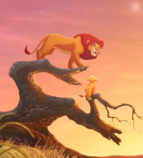Anyone ever realize this is the same tree that simba fell from that his dad rescued him from which ultimately killed him!