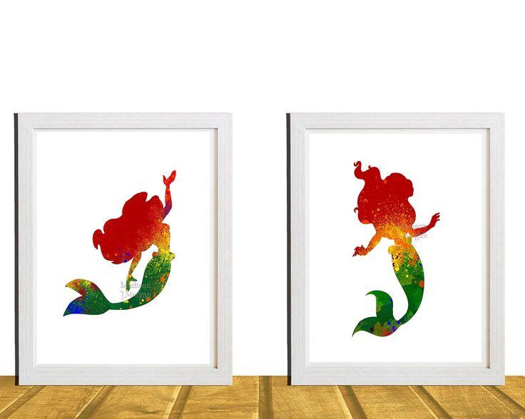 1000 Ideas About Little Mermaid Nursery On Pinterest