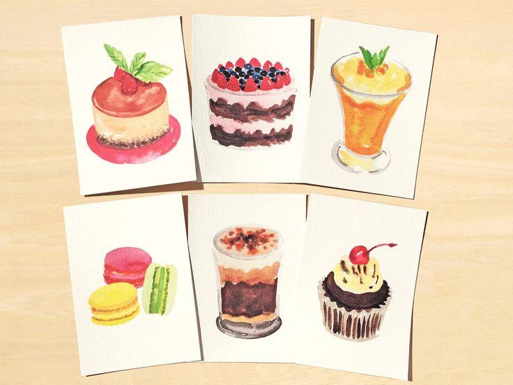 Sweet Treats Postcard Set